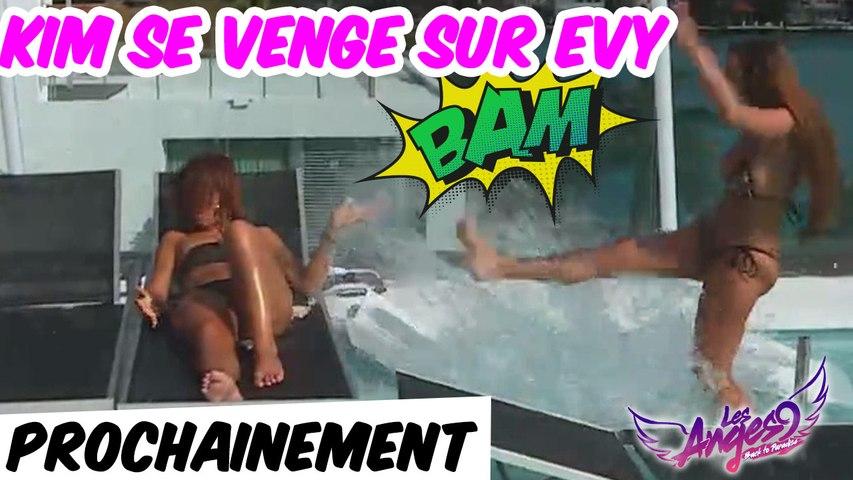 Prochainement dans Les Anges 9 : Kim se venge sur Evy !