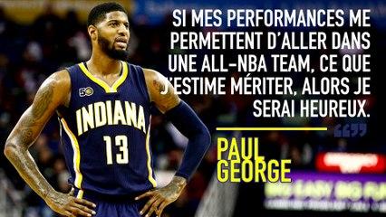 Paul George se voit dans une NBA-All Team