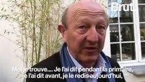 Jean-Luc Bennahmias à propos de Jean-Luc Mélenchon