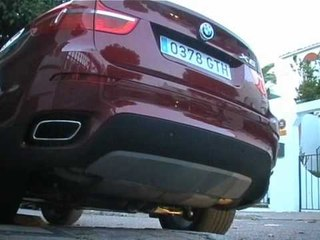 Prueba BMW X6 50i 407cv. Test drive BMW x6 50i. www.motor.es