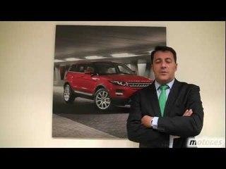 Luis Antonio Ruiz, Presidente de Jaguar Land Rover, presenta el Range Rover Evoque