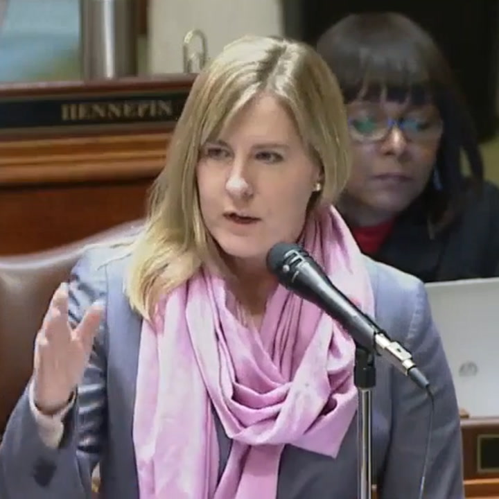 This lawmaker just slammed her colleagues for ignoring a female representative  [Mic Archives]
