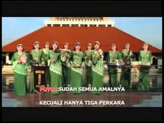 Nasida Ria -  Tiga Perkara [Official Music Video]
