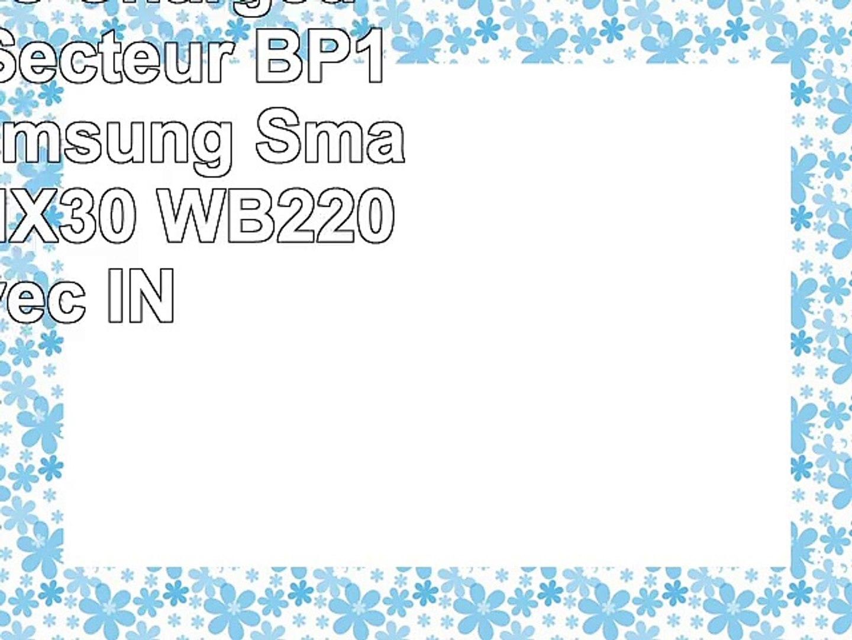 2x Batteries  Chargeur USBAutoSecteur BP1410 pour Samsung Smart Camera NX30 WB2200F