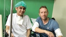 Chris Martin Visits Coldplay's Die Hard Fan at the Hospital