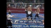 Los Hermanos Dinamita vs Konnan/El Hijo Del Santo/Eddie Guerrero (AAA March 1993)