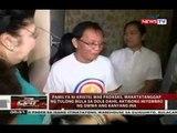 Dating first lady Imelda Marcos, bumisita sa burol ng namatay na youth volunteer