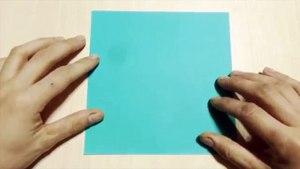 【Bricolage】 camion. Origami. L'art de plier le papier.-4