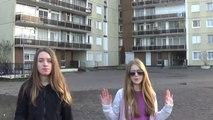 """""""Dans la cité"""" clip officiel de deux jeunes rappeuses"""