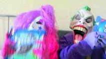 Spiderman vs Frozen Elsa vs Joker Squad! Oreo Challenge! - Funny Superheroes-X0nJkhu