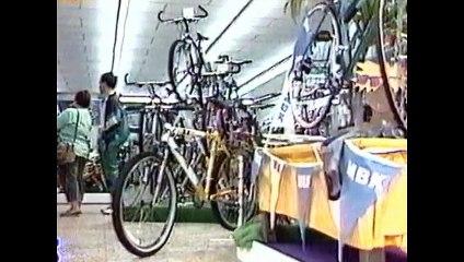 Reportage FR3 Picardie sur tourisme et VTT en 1995.