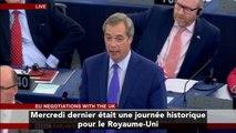 """""""Rançon"""", """"gangsters"""", """"mafia"""" : Nigel Farage perds ses nerfs face à l'Union Européenne"""