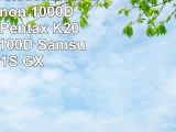 Ecran LCD Telecommande pour Canon 1000D  550D  500D  Pentax K200D  K110D  K100D