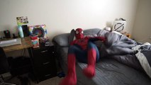 Spiderman vs Zombie Spiderman   Orbeez Bath Time SuperHero fun in Real life!  ) -