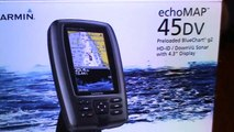 In  with Garmin 45DV out with Lowrance elite 4 DSI-U7AnyU