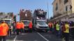 Carnaval étudiants à Caen : les chars se mettent en place