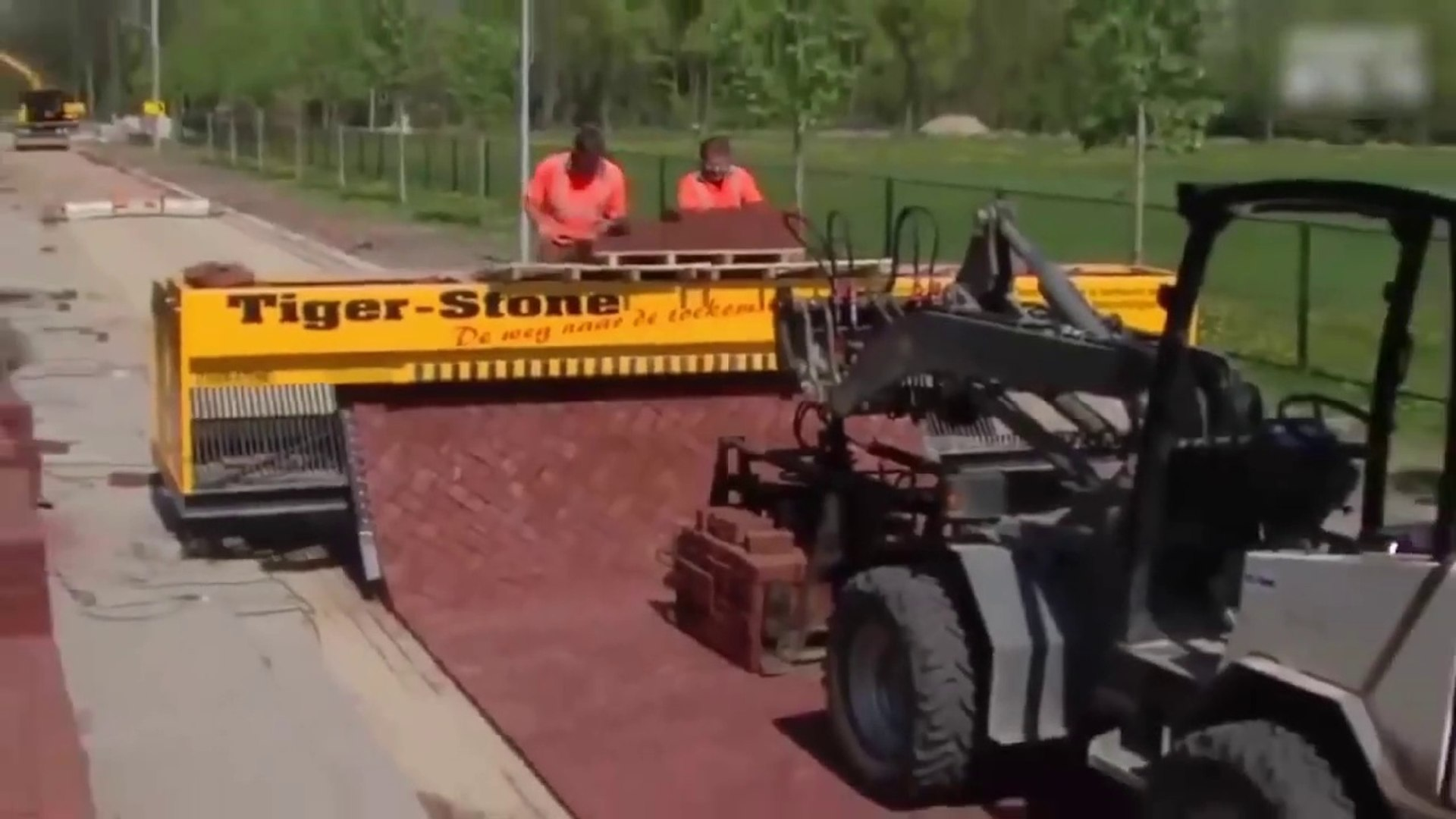 Latest Technology 2017 Road Printer Capable of Laying Bricks Perfectly on The Ground-s6Q2P3H4