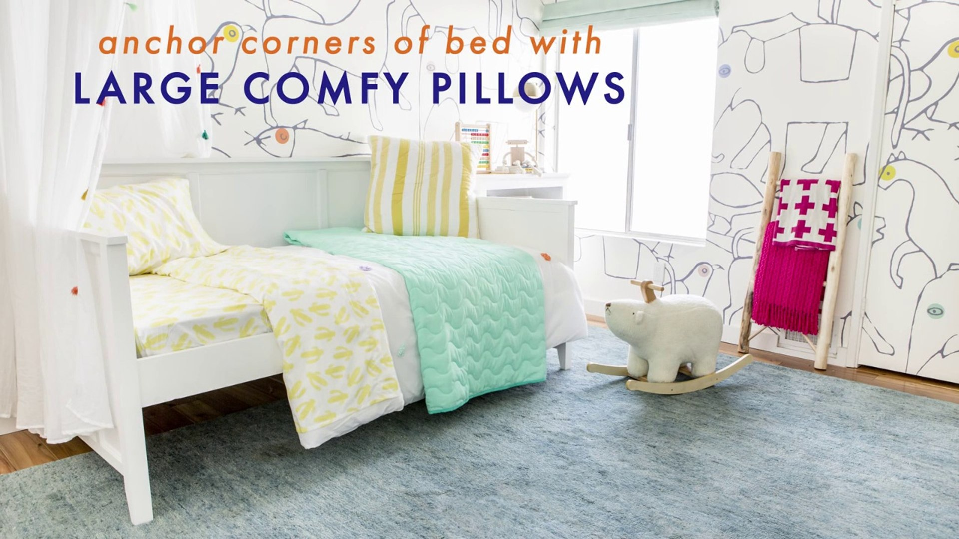 How To Style A Kid's Daybed-7u05Sq0
