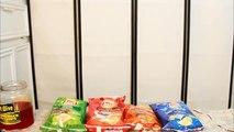 MINI MUKBANG - LAYS NEW PASSPORT TO FLAVOR CHIPS REVIEW! YUMMYBITESTV-rjW