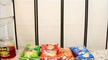 MINI MUKBANG - LAYS NEW PASSPORT TO FLAVOR CHIPS REVIEW! YUMMYBITESTV-rjWzy