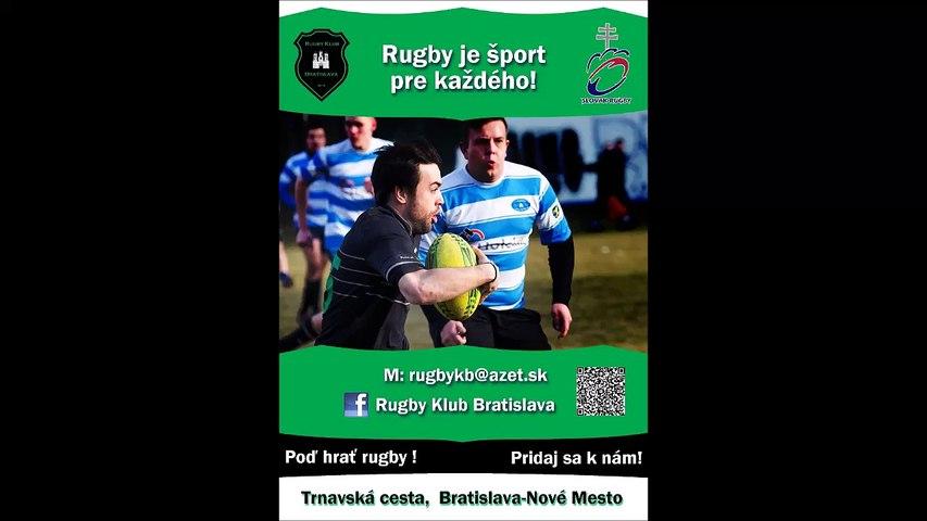 Rugby Klub Bratislava training 5th April 2017 senior a novy hraci