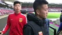 La sélection U16 chinoise au Roudourou