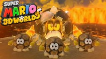 Super Mario 3D World #30 - Boss de Pedra  WII U Gameplay 1080p Comentado em PT-BR
