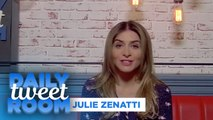 "Julie Zenatti : "" Avec cet album j'avais envie de faire danser ma fille, ma mère et ma grand-mère."" - #DailyTweetRoom"