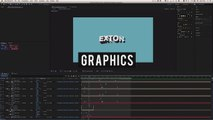 Fake 3D Cartoon Logo Animation _ Motion Graphics After Effects Tutorial-ey