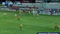 Christos Aravidis Goal HD - Platanias 0-2 AEK 06.04.2017