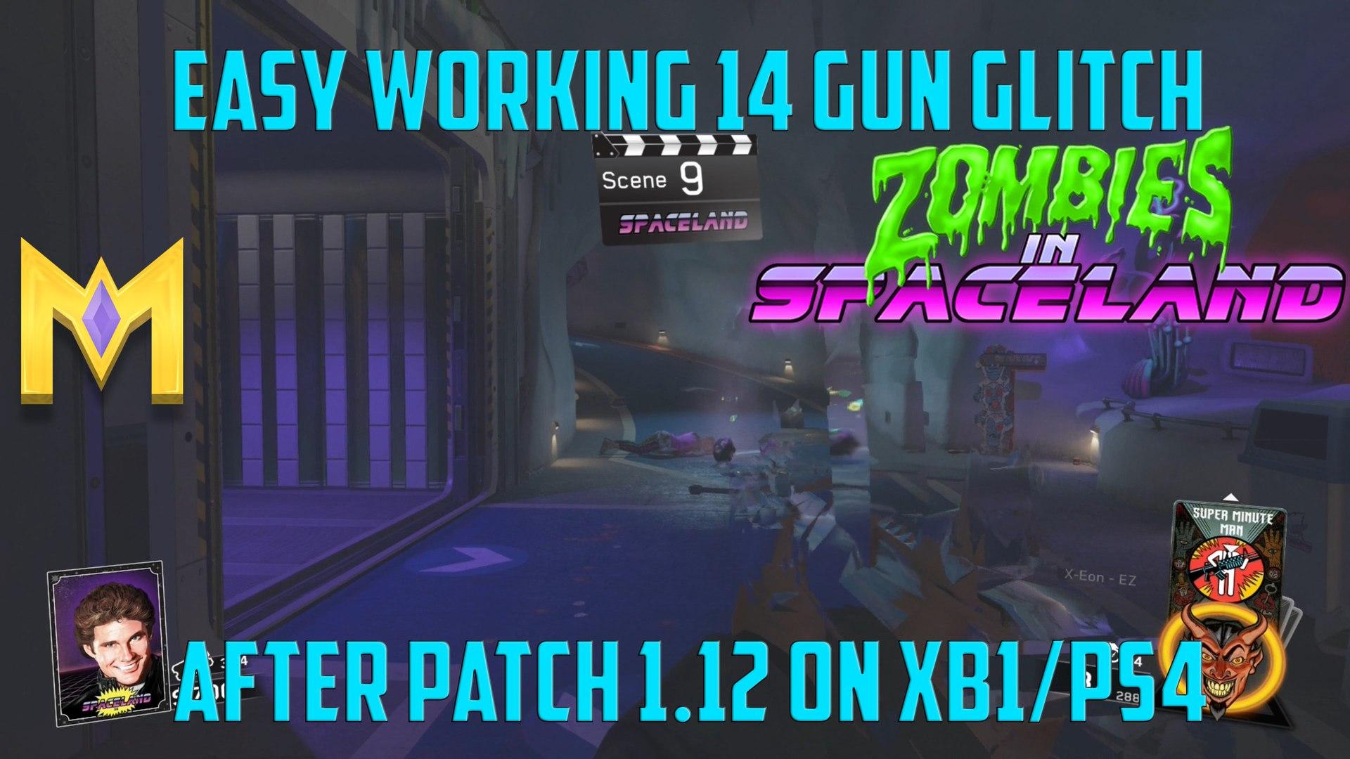 Zombies In Spaceland Glitches - WORKING 14 Gun Glitch AFTER Patch 1 12 - 14  Gun Glitch AFTER Patch 1 12
