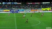Christos Aravidis Goal HD - Platanias FC 0 - 2 AEK Athens FC - 06.04.2017 (Full Replay)