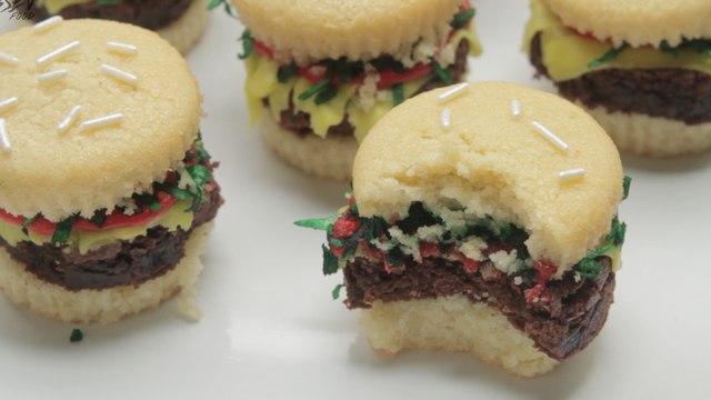 Cheese Burger Cupcakes!