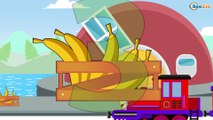 The Little Train - Learn Colors & Shapes - Educational Videos - Trains & Cars Ca