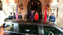 President Trump and Melania Welcome Chinese President Xi Jinping To Mar-A-Lago