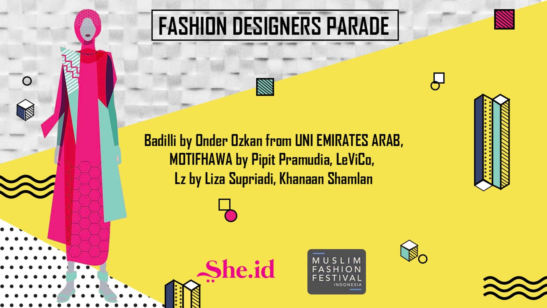 Fashion Designers Parade - Muslim Fashion Festival