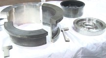 Near-net-shape manufacturing of stainless-steel casing rings for vacuum pumps
