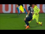 Luis Suarez showed off his individual talent Nutmegs David Luis tow Times