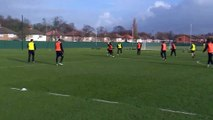 Steven Gerrard scored a goal like that in practice Wonderful shot with his left foot - YouTube