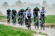 Paris-Roubaix 2017 - Peter Sagan en reco sur les pavés de Paris-Roubaix avec son équipe Bora-Hansgrohe