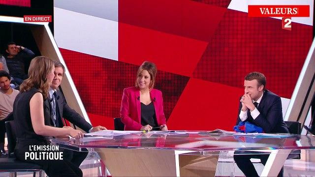 Le malaise de Macron face à Charline Vanhoenacker