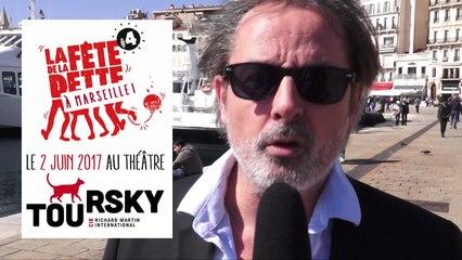 La Fête de la Dette se pointe à Marseille avec Christophe Alévêque au Toursky - Micro trottoir 02
