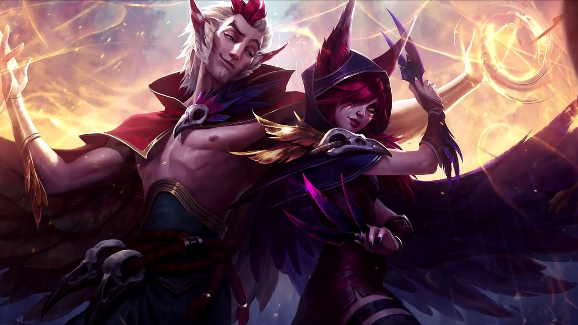 Xayah Reveal - The Rebel - New Champion - YouTube