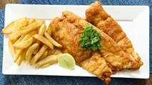 How To Make Fish And Chips | Homemade Fish And Chips Recipe | Crispy Fish And Chips | Neelam Bajwa