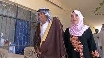 70-year age gap wedding- 92-year-old man marries 22-year-old woman