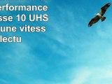 PNY Carte mémoire SDXC Elite Performance 64 Go Classe 10 UHS1 U3 avec une vitesse de