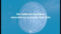 Des molécules organiques retrouvées sur la planète naine Cérès