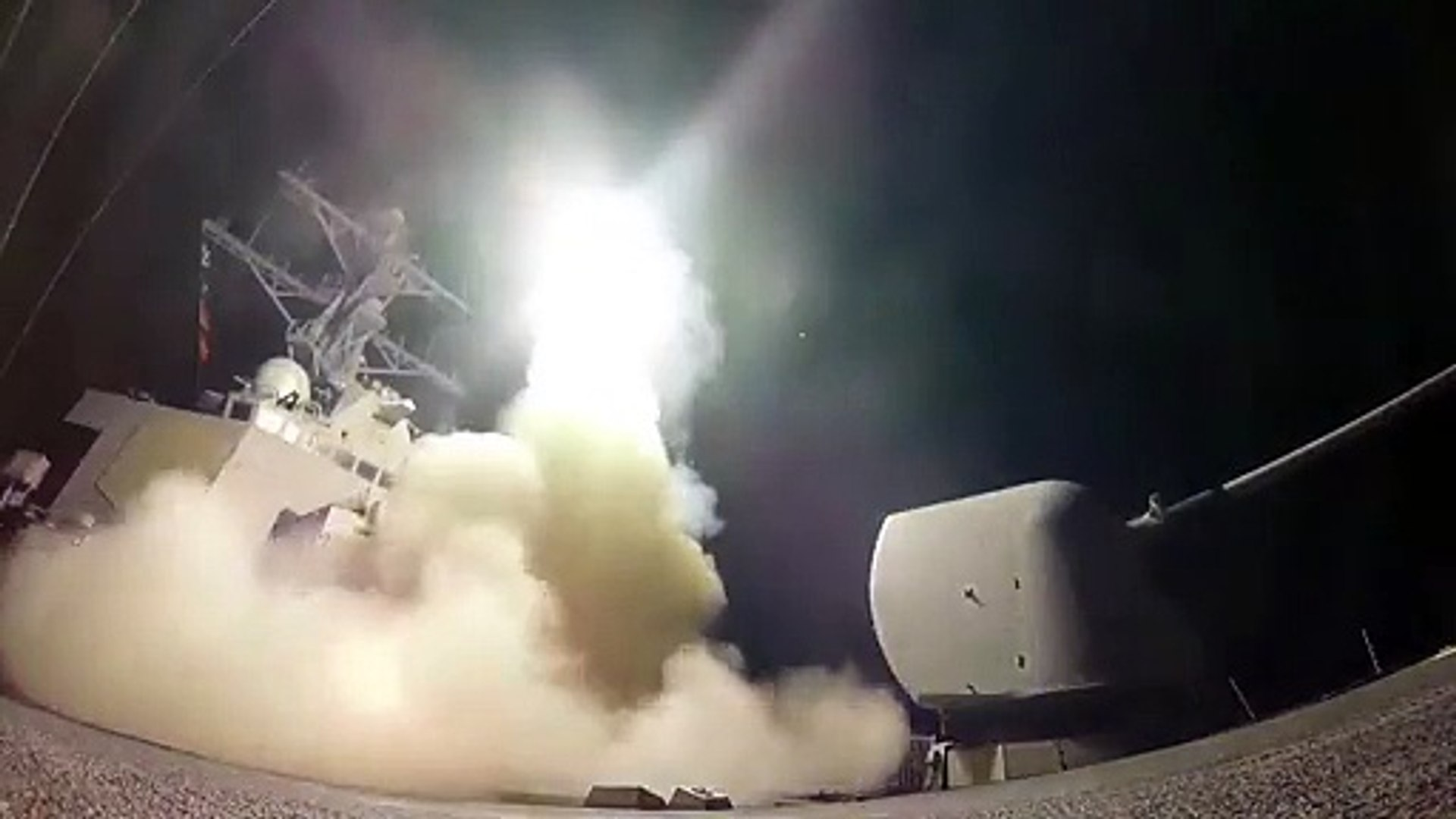 Trump Orders Missile Attack in Retaliation for Syrian Chemical Strikes