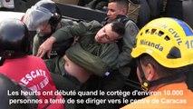 Venezuela: un mort et nombreux heurts lors d'une manifestation