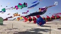 Les images magnifiques des Rencontres Internationales des Cerfs-Volants de Berck